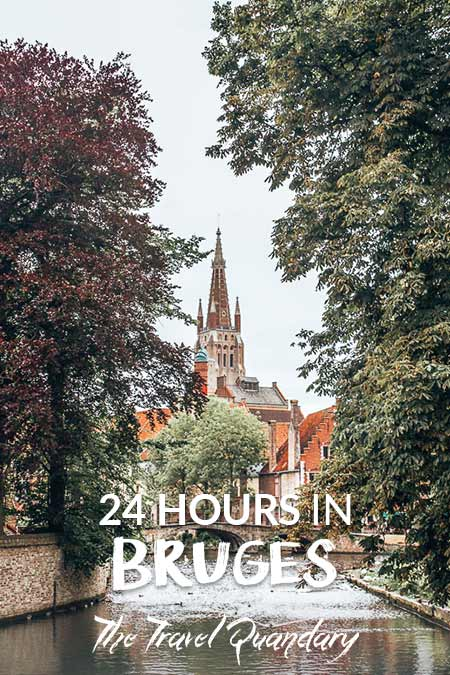 Pin Photo | 24 Hours in Bruges