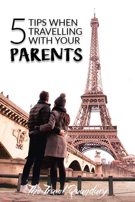 Pin Photo: How to travel with your parents