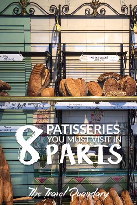 Pin and Save Photo | The Must Visit Patisseries in Paris