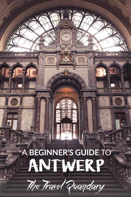 Pin to Pinterest: The beautiful interior of Antwerp Train Stration | Guide to Antwerp