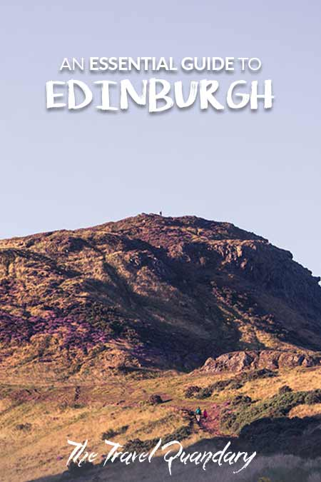 Pin to Pinterest: Essential Guide To Edinburgh
