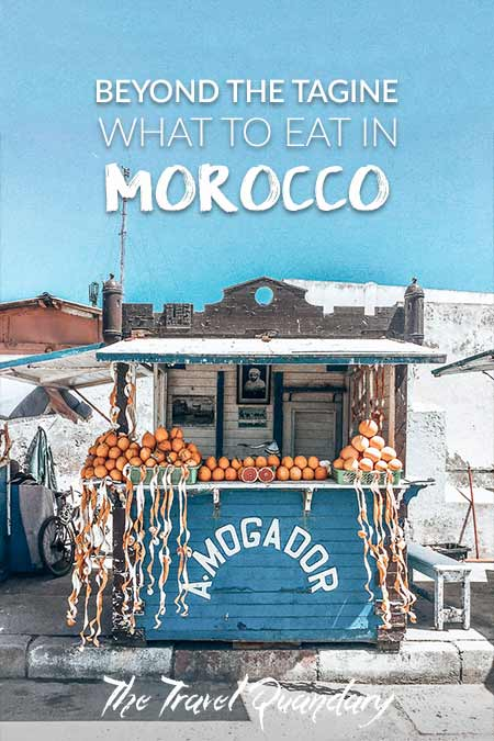 A. Mogador orange juice stall in Essaouira, Morocco