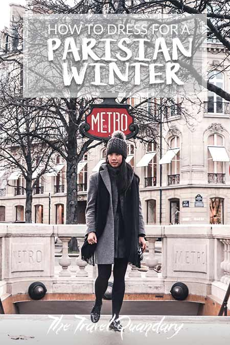 Pin to Pinterest - How To Dress For A Parisian Winter