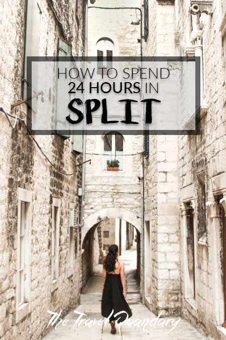 Pin to Pinterest: How To Spend A Day in Split, Croatia