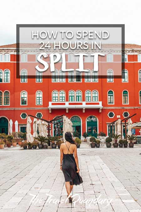 Pin Photo: The best way to spend a day in Split, Croatia