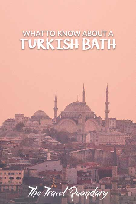 Pin Photo: What Happens in A Turkish Bath