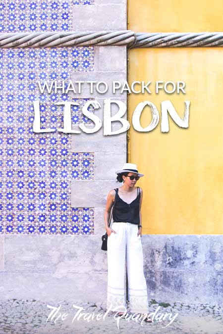 Pin to Pinterest: What To Wear In Lisbon