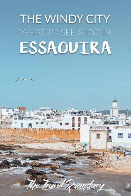 Pin Photo: View of the medina from Skala du Port, Guide to Essaouira Morocco