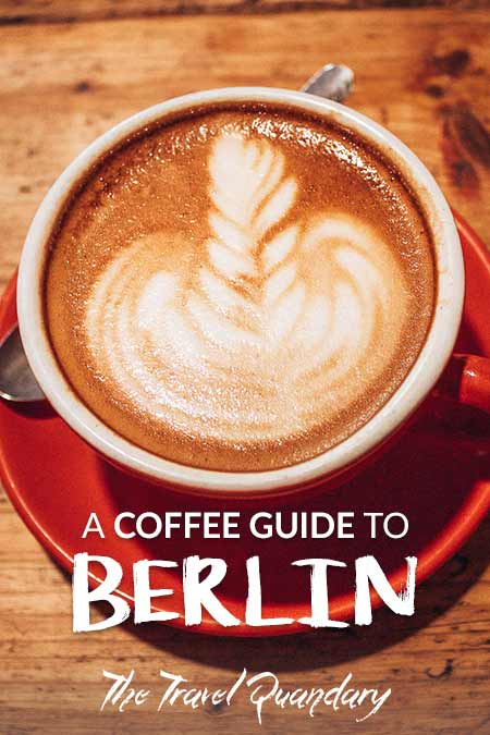 Pin to Pinterest | A flat white from Silo Coffee, Berlin, Germany