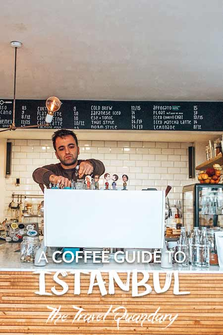 Specialty Coffee Shops In Istanbul | Save to Pinterest