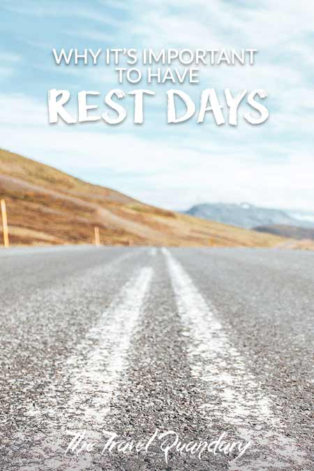 Pin to Pinterest: The Importance of Rest Days