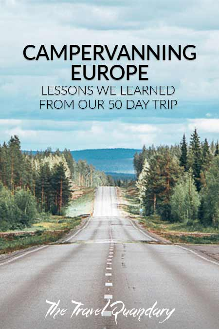 Pin Photo: Lessons From Our European Campervan Trip