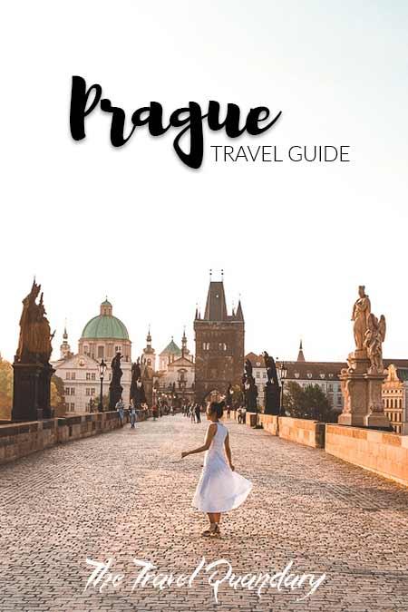 Jasmine dancing on the Charles Bridge at sunrise, Prague in 2 days