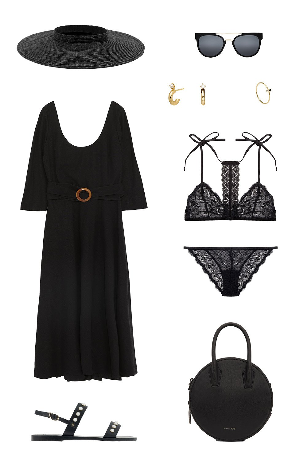 How To Wear Black On Your Summer Holiday | how to wear black on your summer holiday 1