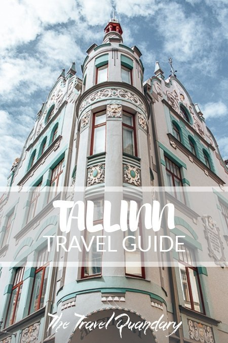 Pin to Pinterest: Art deco architecture in Tallinn Old Town