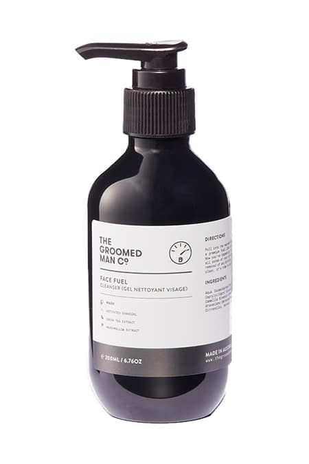 The Groomed Man Co Face Fuel Cleanser - Gift Guide