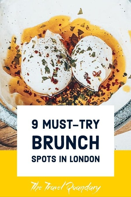 Pin Photo: 9 Cafes for Brunch in London