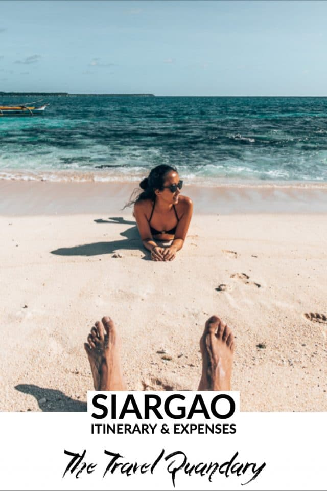 Siargao Itinerary & Expenses | PinterestBoard