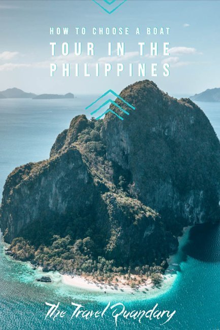 Island Hopping in the Philippines? Which boat tour should I choose | Pinterest