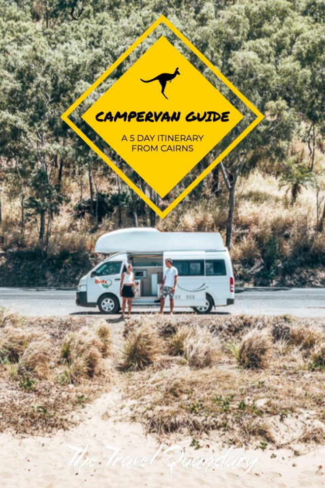 Pin Photo: campervan trip from cairns