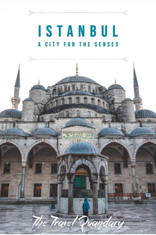Pin Photo: A Romantic Weekend in Istanbul, A City For the Senses