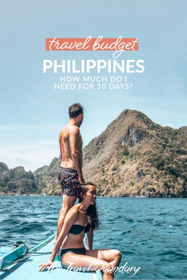 Pin Photo: A couple Island Hopping in El Nido, The Philippines