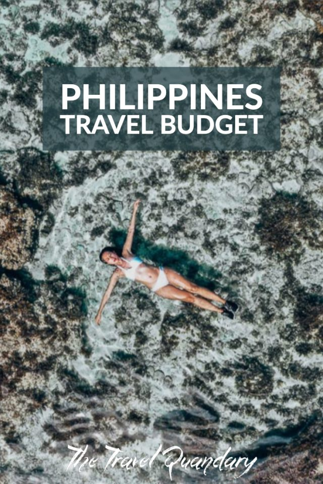 Pin to Pinterest: Floating in the Magpupungko Rock Pools, Siargao - Philippines Travel Budget