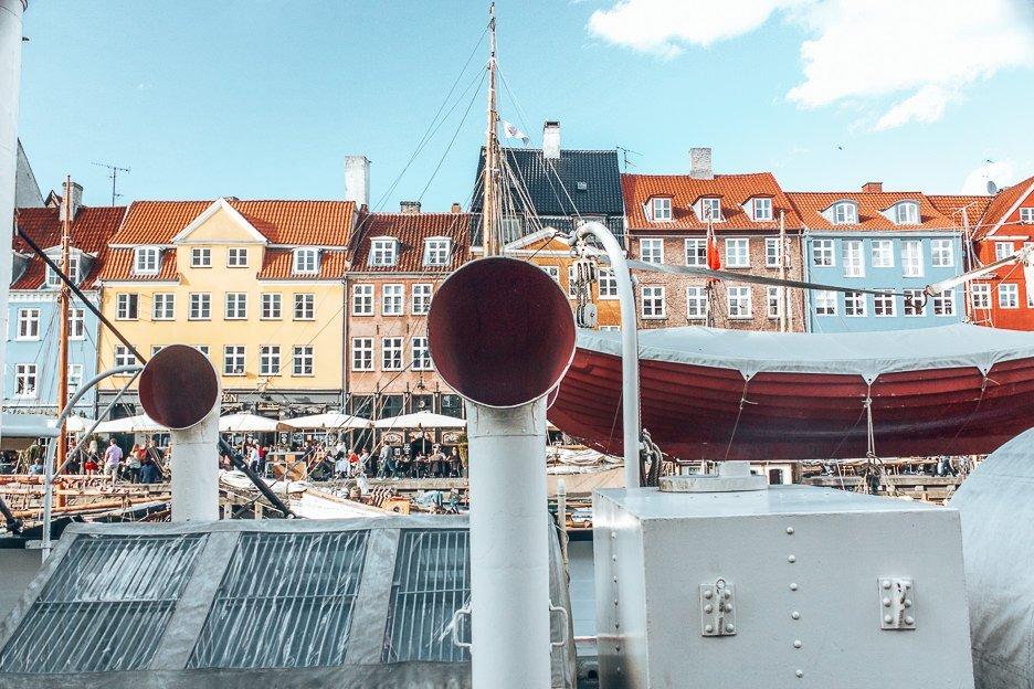 Boats and houses of Nyhavn - Copenhagen City Guide, Denmark