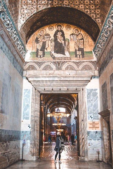 Inside Hagia Sogia Museum - Istanbul City Guide, Turkey
