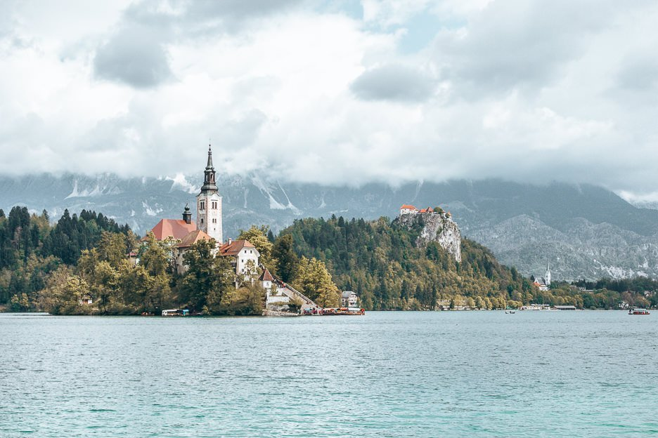 Lake Bled and Bled Castle, Slovenia