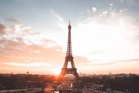 Sunrise over the Eiffel Tower from Trocadero, Paris - First Trip