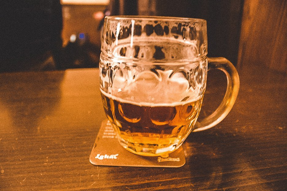 Czech beer at Lokal, Prague City Guide