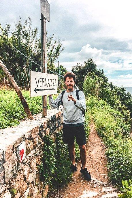 Hiking trails towards Vernazza, Cinque Terre