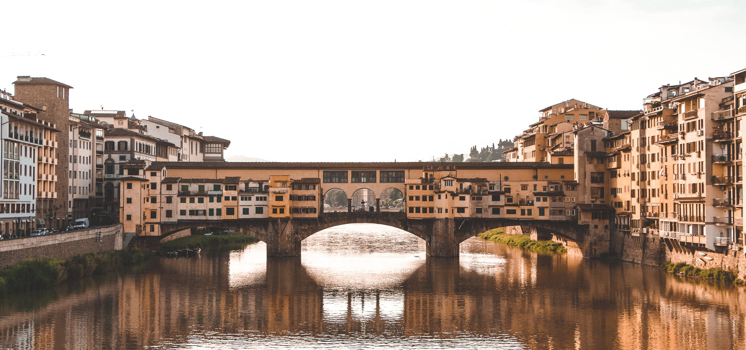 A view of Ponte Vecchio, 1 day in Florence