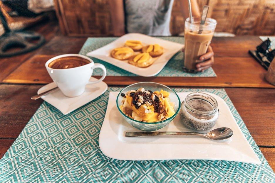 Brunch and coffee at The Pleasure Point Cafe, SIargao
