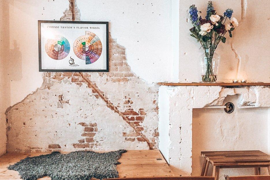 Best Coffee in Amsterdam | Crumbling interiors of Scandinavian Embassy