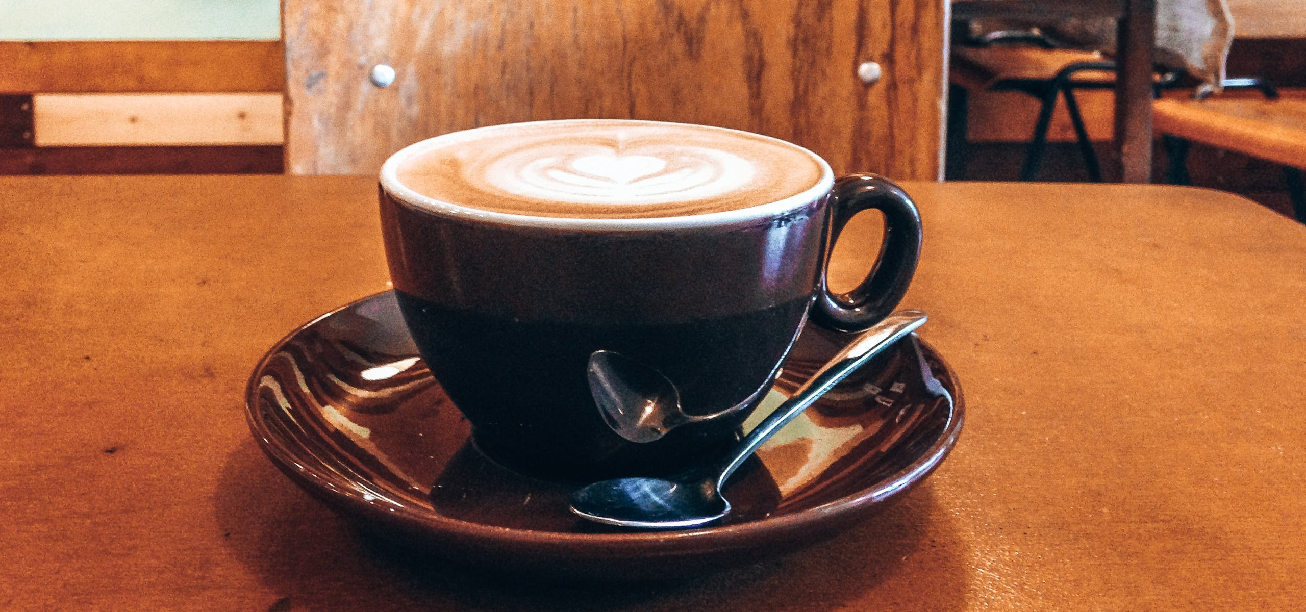Specialty Coffee Amsterdam | A latte at Sweet Cup Roastery
