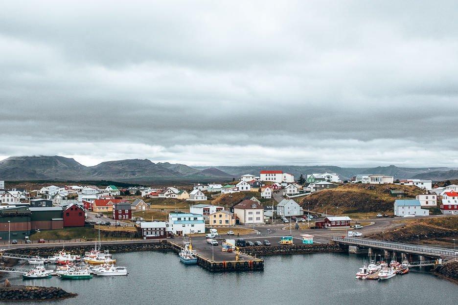 Town of Stykkisholmur, Iceland