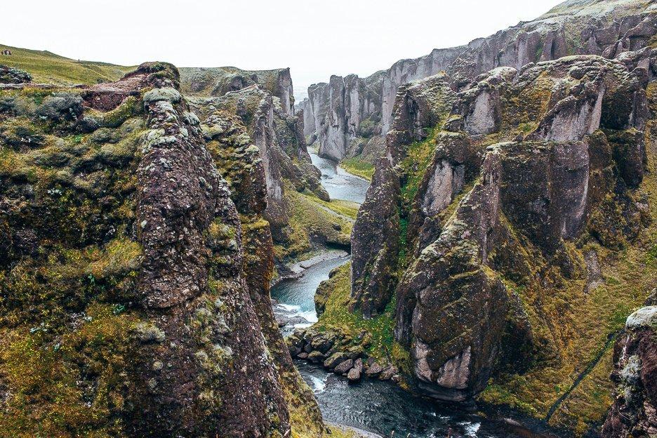 Fjadrargljufur Gorge, Iceland