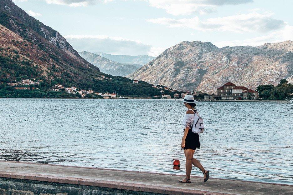 Evening strolls in Kotor, Montenegro