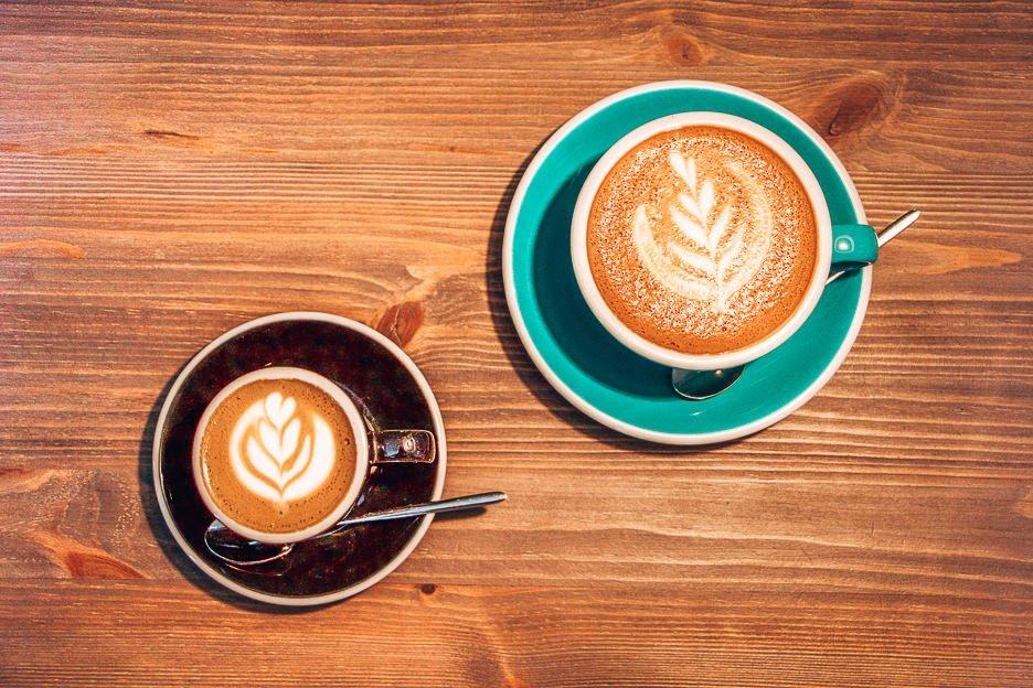 Coffee break at Brew Coffee, Vilnius