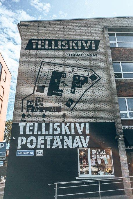 Graffiti street art - Tallinn, Estonia
