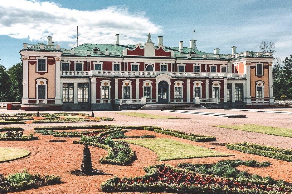 Gardens and Kadriorg Palace - Tallinn, Estonia