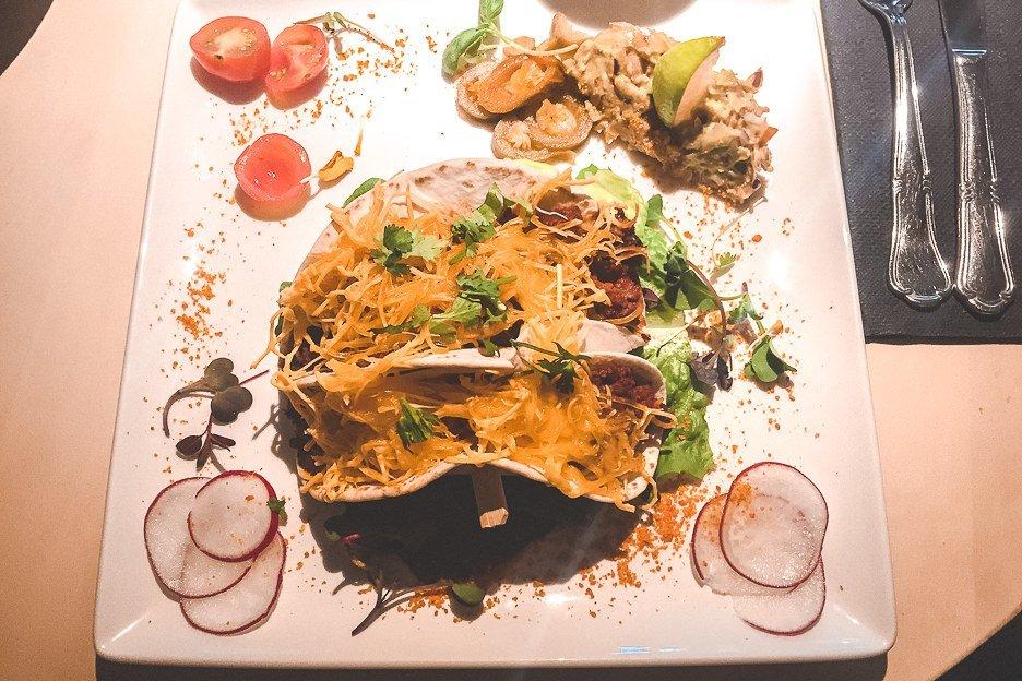 Vegan tacos at Resoran V - Tallinn, Estonia
