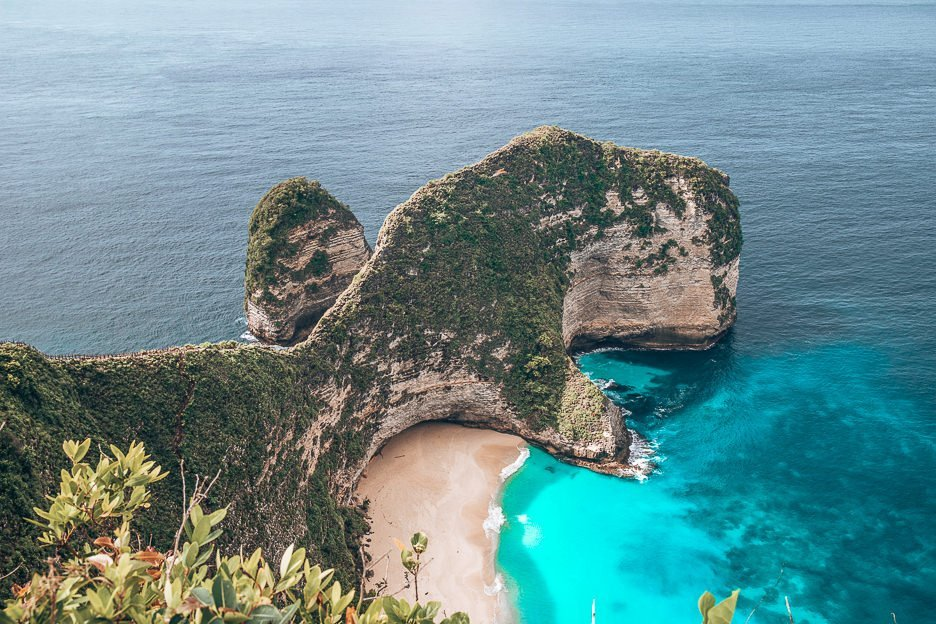 The famous T-Rex head at Kelingking Beach, Nusa Penida, Bali Gallery