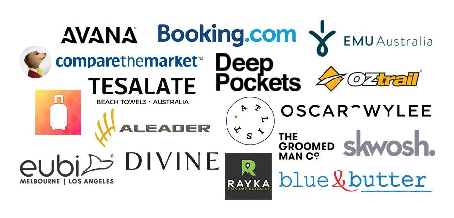 Brands We Have Worked With - The Travel Quandary