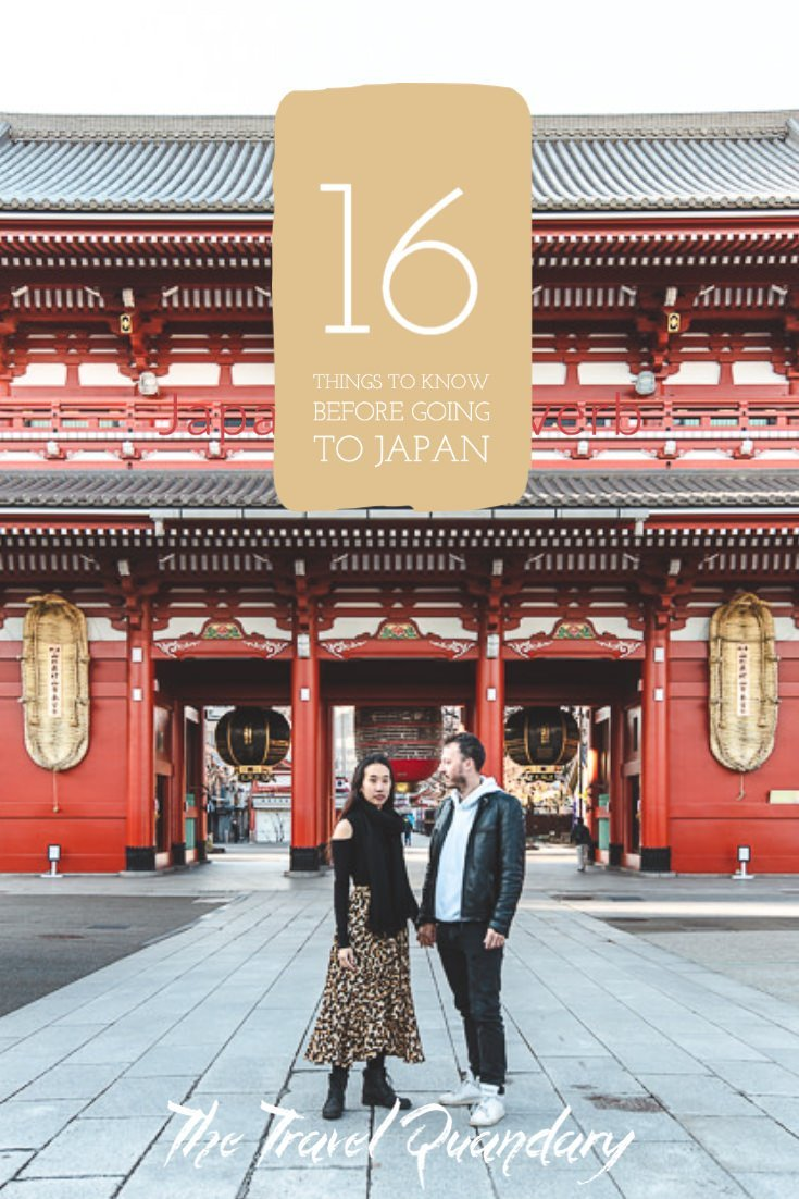 Pin to Pinterest: Useful Things To Know Before Going to Japan