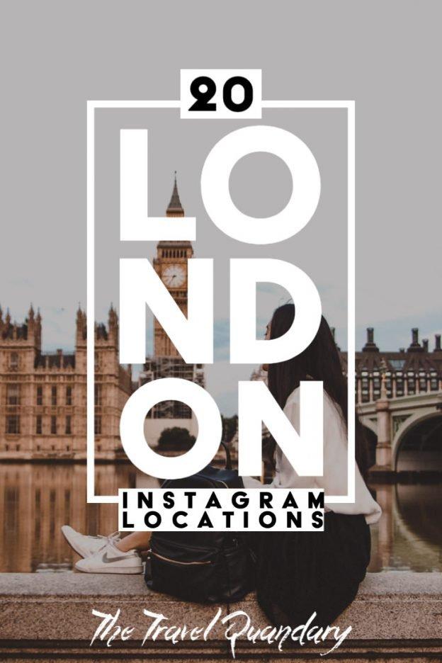 Pin Photo - Big Ben under renovation   Best London Instagram Shots