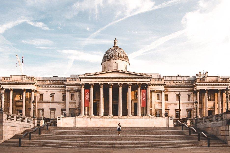 National Gallery in London   Best London Instagram Shots