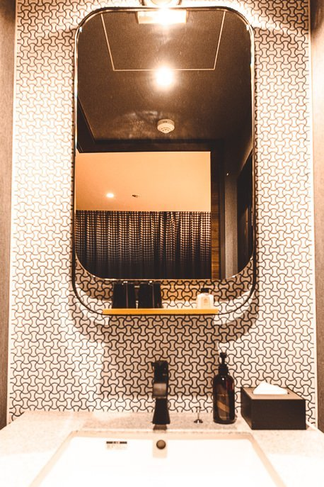 Vanity & mirror in Double Standard Room at The Lively Azabujuban Tokyo